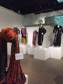 Marian Clayden exhibition at Fashion and Textile Museum, London (March 2016).