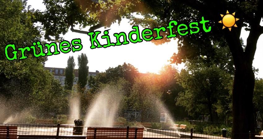 Grüne Kinderfest Boxhagener Platz