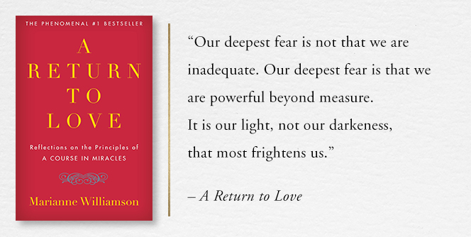 A RETURN TO LOVE: Reflections on the Principles of A