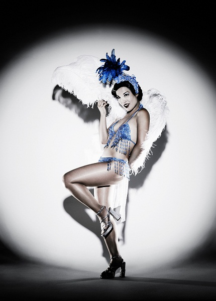 Marianne Cheesecake is a Vegas showgirl