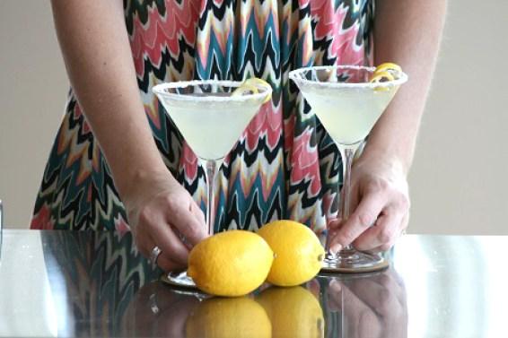 Oppskrift på drinken Lemon Drop