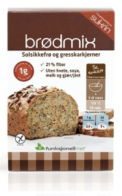 Lavkarbo brødmix fra Funksjonell Mat