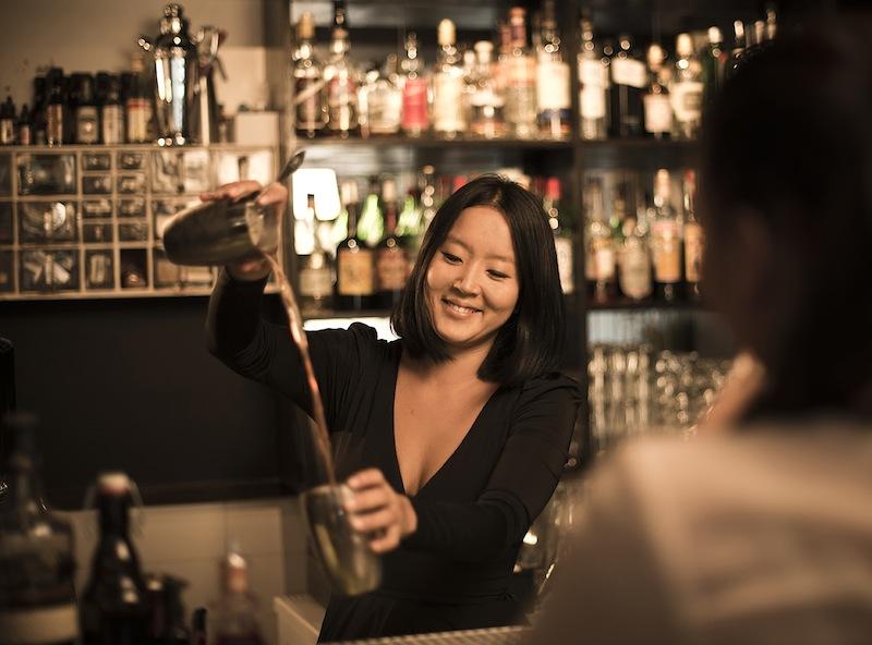 World Class-bartender Monica Berg
