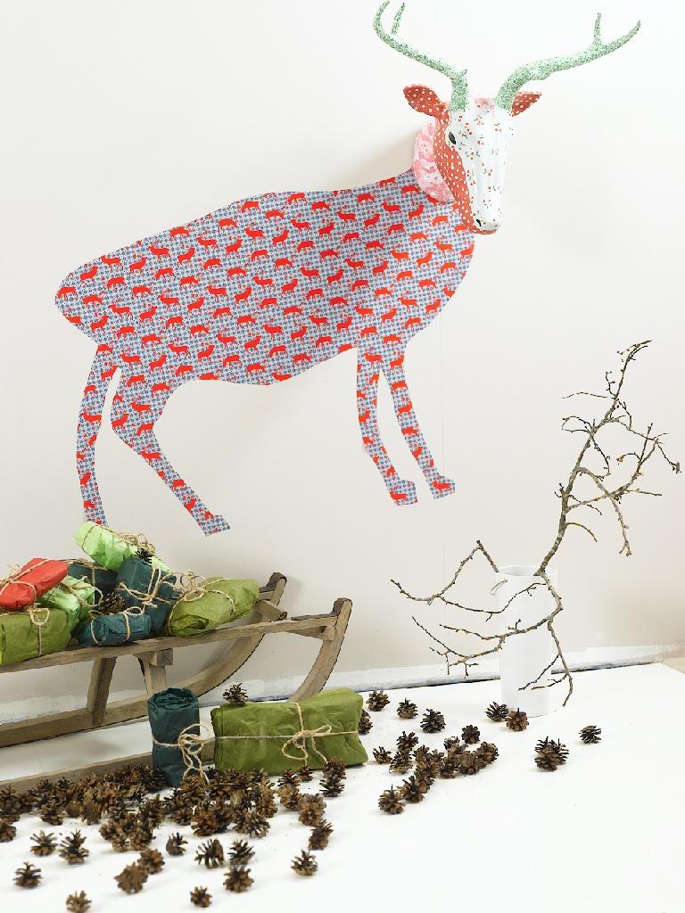 DIY - jul. Adventskalender til barn av kun én eske leker
