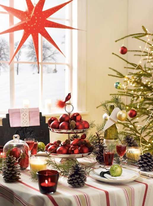 Ingeniørfruens bord til julens selskap