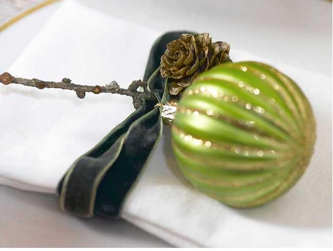 Ingeniørfruens serviettpynt til julens bord