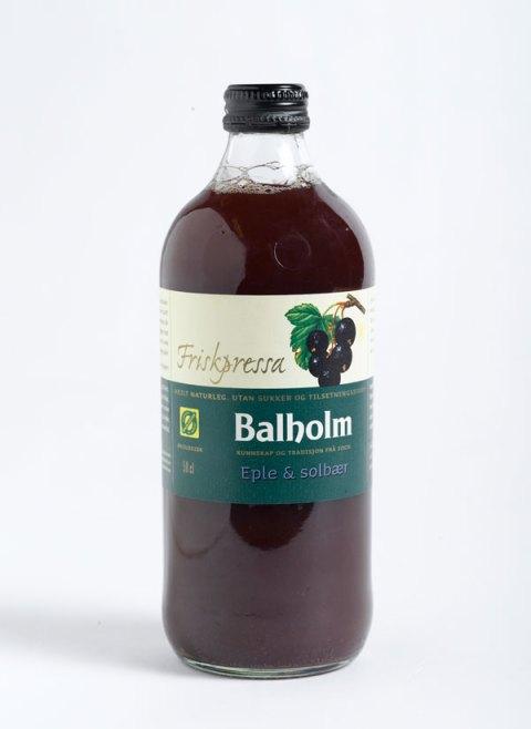 Ingeniørfruen tipser om økologisk eple- og solbærjuice fra Balholm