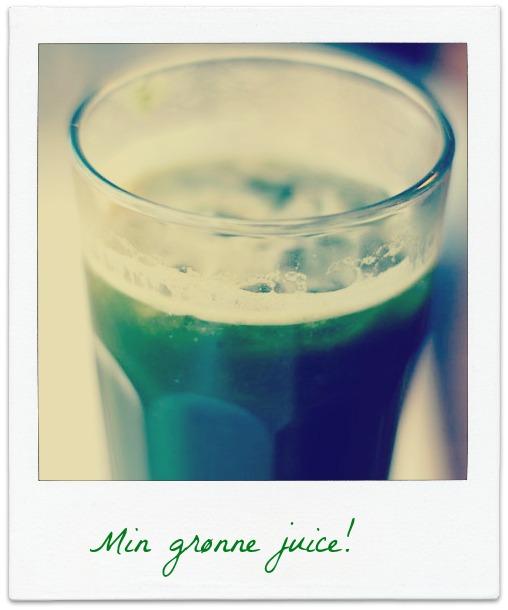 Kamillas grønne juice