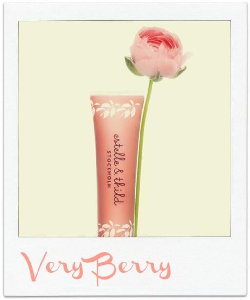 Ingeniørfruen tipser om Very Berry leppepomade fra økologiske Estelle & Thild