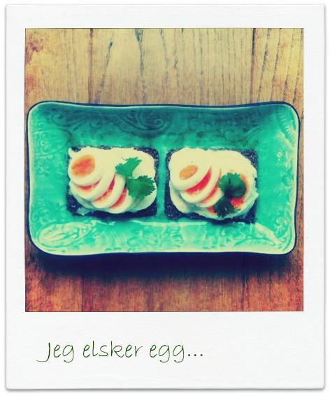 Ingeniørfruens egg og majones