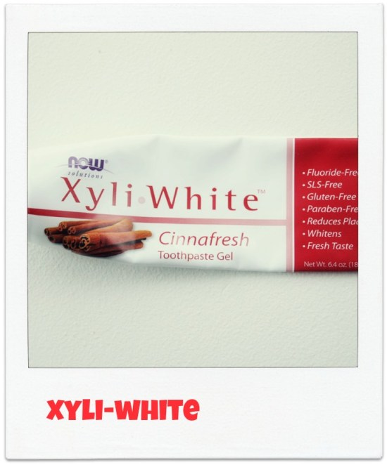 Ingeniørfruens nye og sunnere tannkrem XyliWhite fra  iHerb