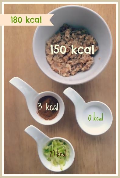 frokost med lite kalorier