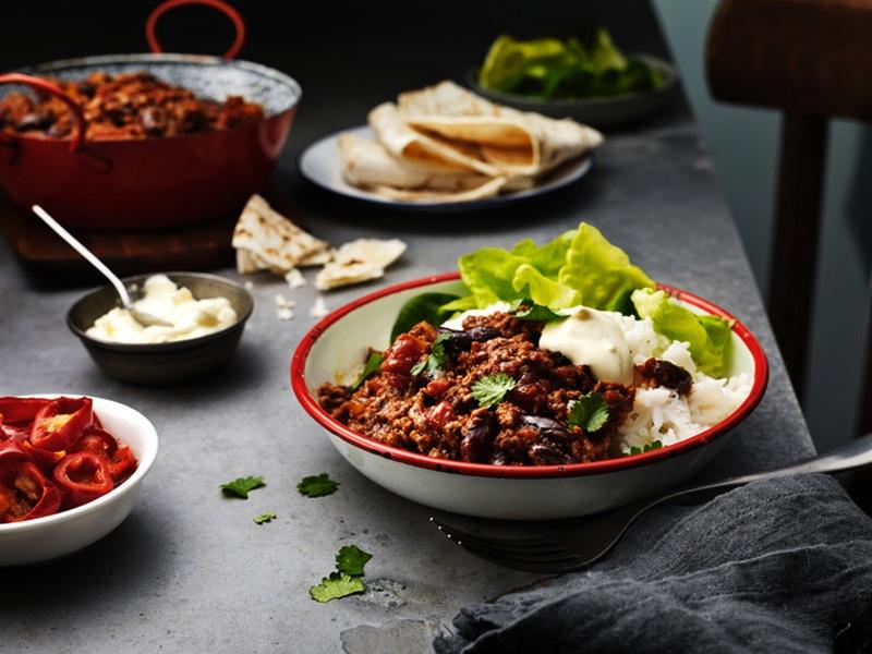 TEX MEX: Kjapp-og-enkel-oppskrift-på-chili-con-carne