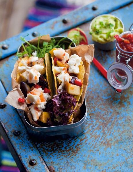Oppskrift-på-aubergine-geitost-taco-goat-taco-med-sweet-chili-sauce