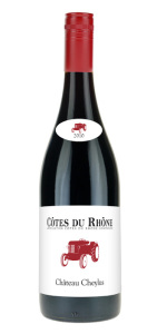 Drikke til julematen Ch Cheylus Côtes du Rhône