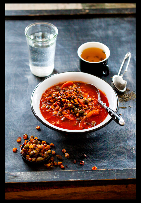 KJØTTFRI MANDAG: Sunn oppskrift på vegetarisk suppe med ristet mais