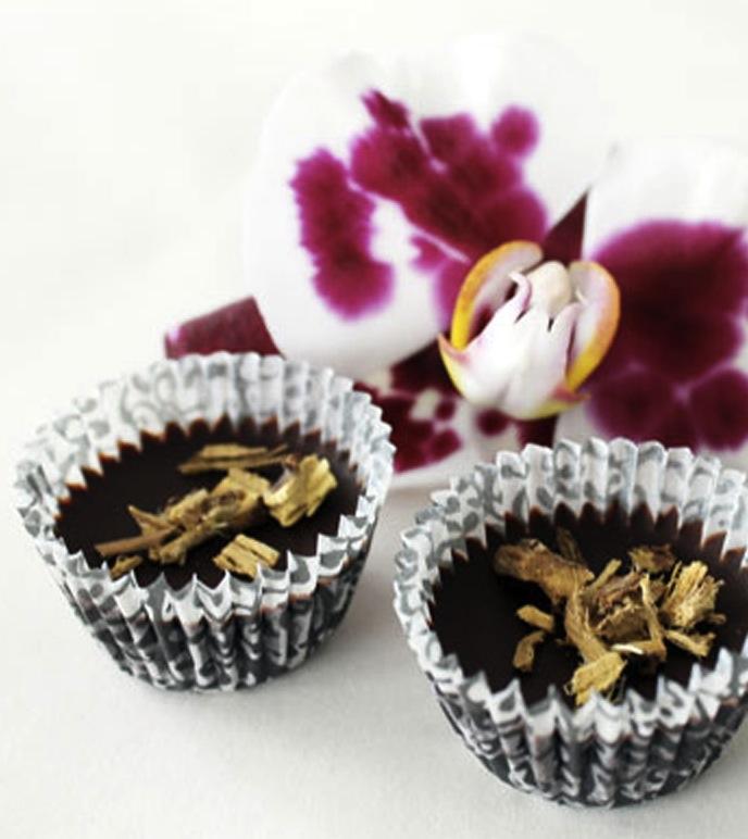 LØRDAGSGODT Sunn oppskrift på lakrissjokolade