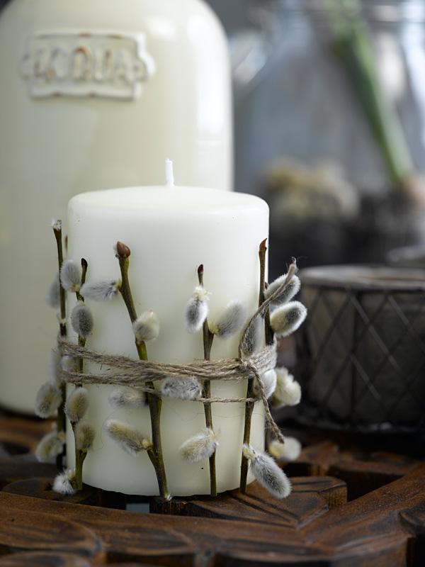 DIY Lag selv enkel, kjapp og rimelig dekorasjon ttil påskebordet
