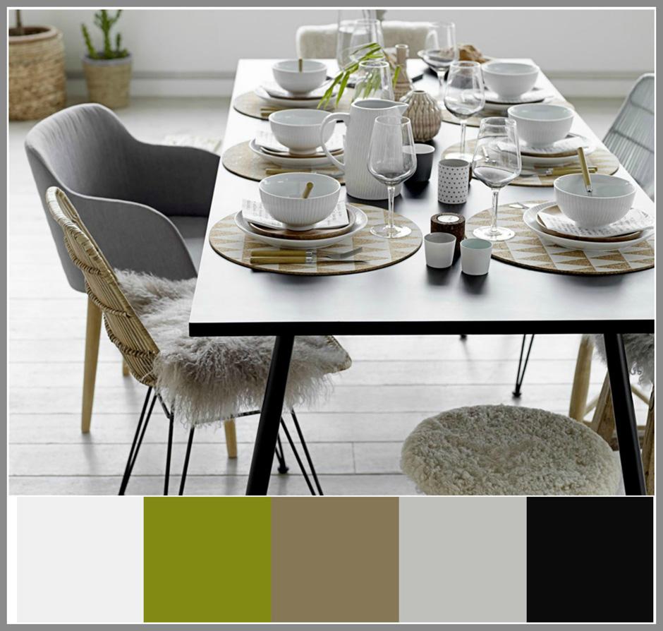 INTERIØRTIPS-borddekking-i-grått-sort-hvitt-natur-og-grønt