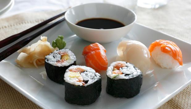 Guide til sushi, nigiri, maki, sashimi, wasabi og nori