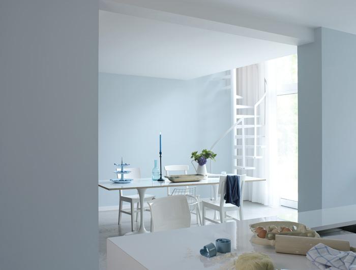 Feng shui skolen del 2 farger og feng shui mariannes for Pintura azul para interiores
