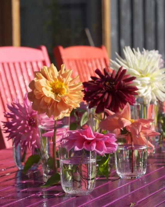 Maling av terrassemøbler i nye farger