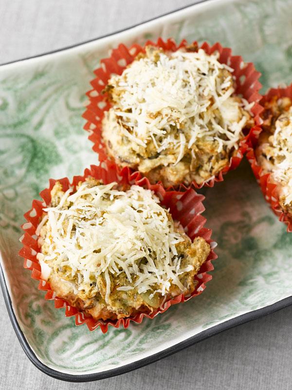 Idemagasinets oppskrift på sunne lavkarbo matmuffins av brødmix