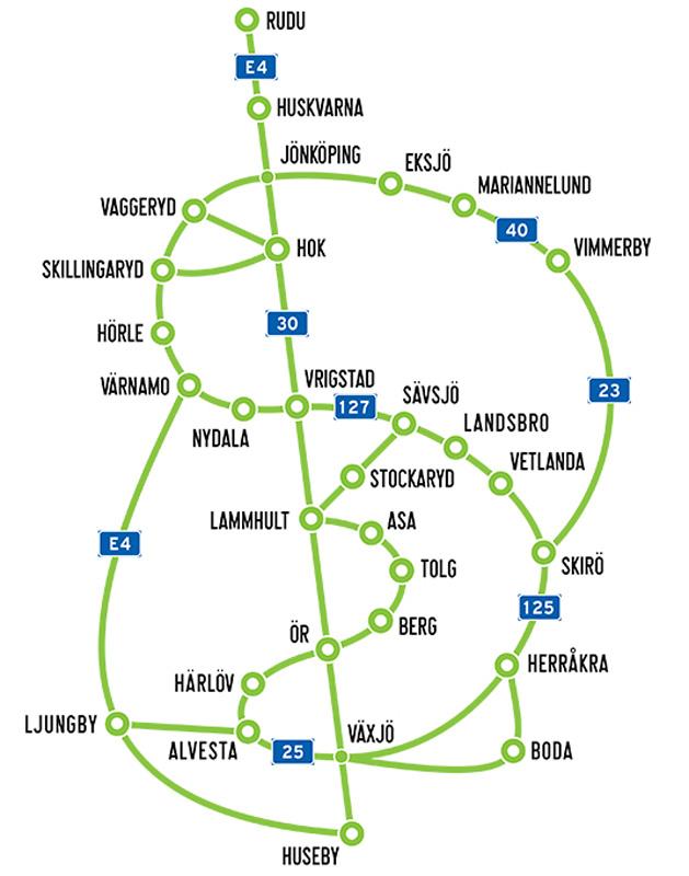 REISETIPS Smålands Kulturfestival kart