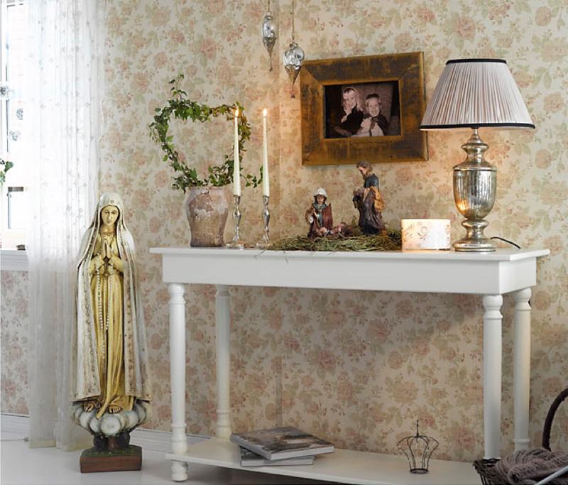 013 INTERIØRTIPS - Hjemme hos Bente - rustikk og romantisk jul ved Mjøsa