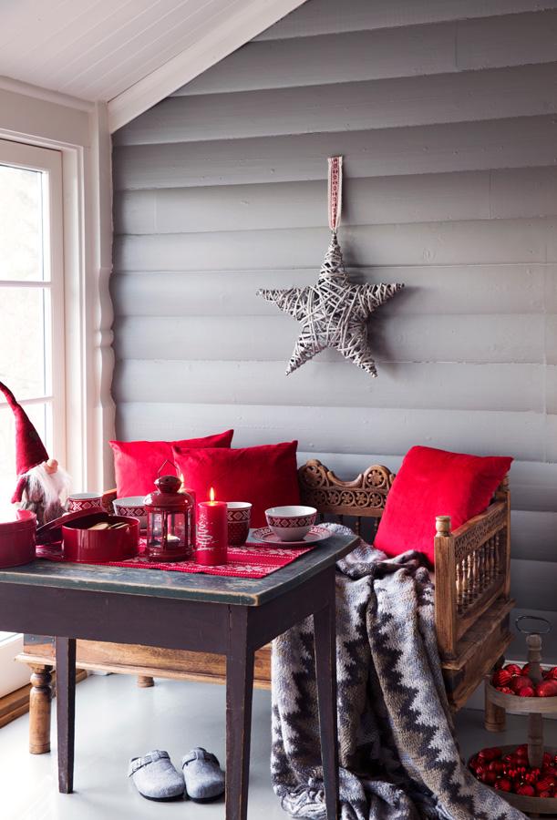 014 Julepynt som passer både på hytta og hjemme Foto Europris