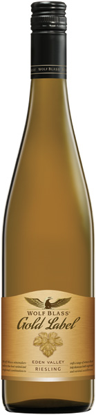 HVITVIN TIL LUTEFISK - Wolf Blass Gold Label Riesling 2012, Australia
