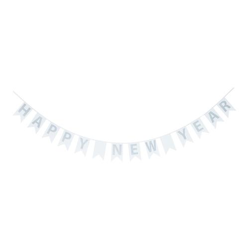 Vimpelrekke Happy New Year fra Nille