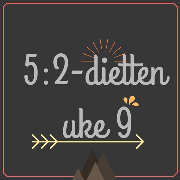 Menyforslag på 5-2-dietten for uke 9 - 2016