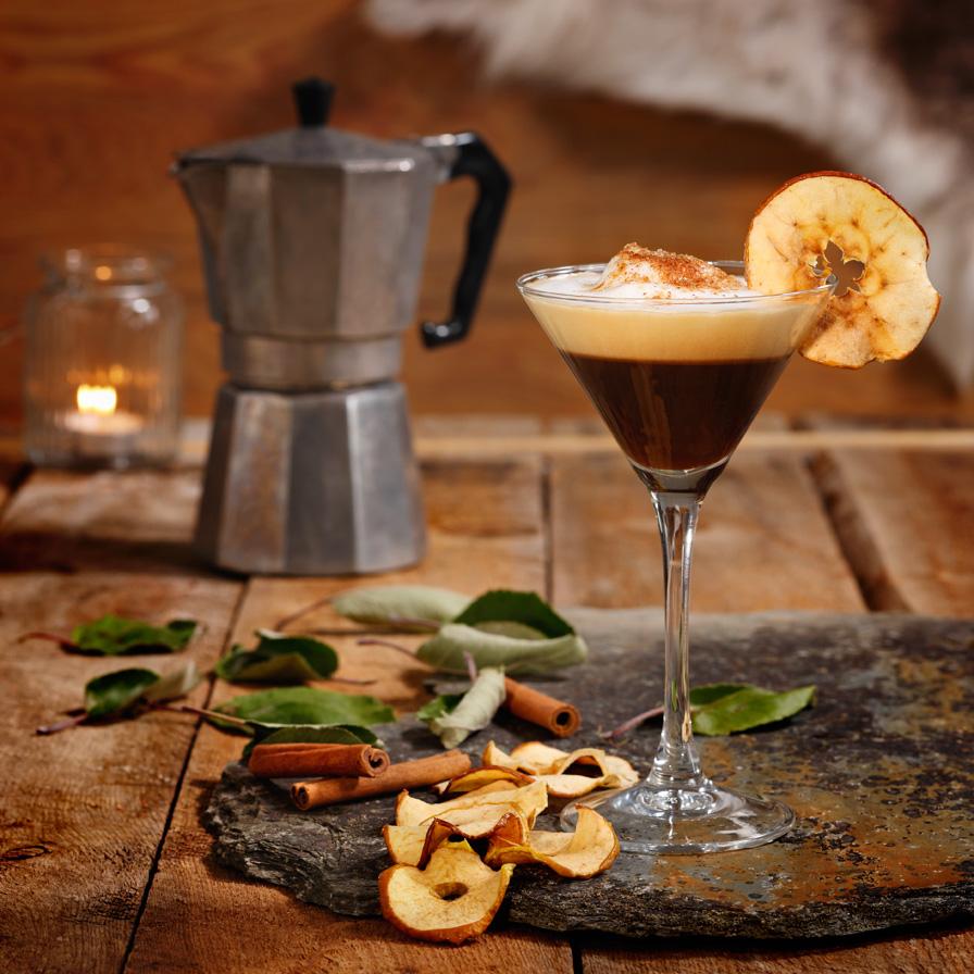 Oppskrift-på-kaffedrikker-Kaffe-a-la-eplekake