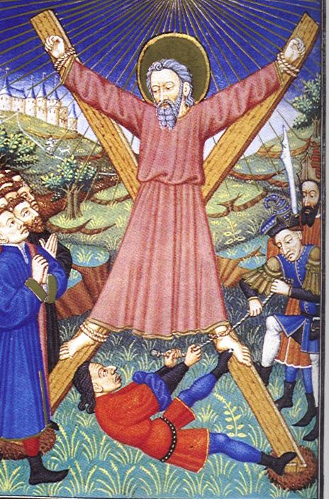 Martyrdom of St. Andrew.