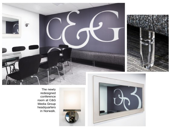 C&G Media Group refreshes their conference room with an extensive remodel