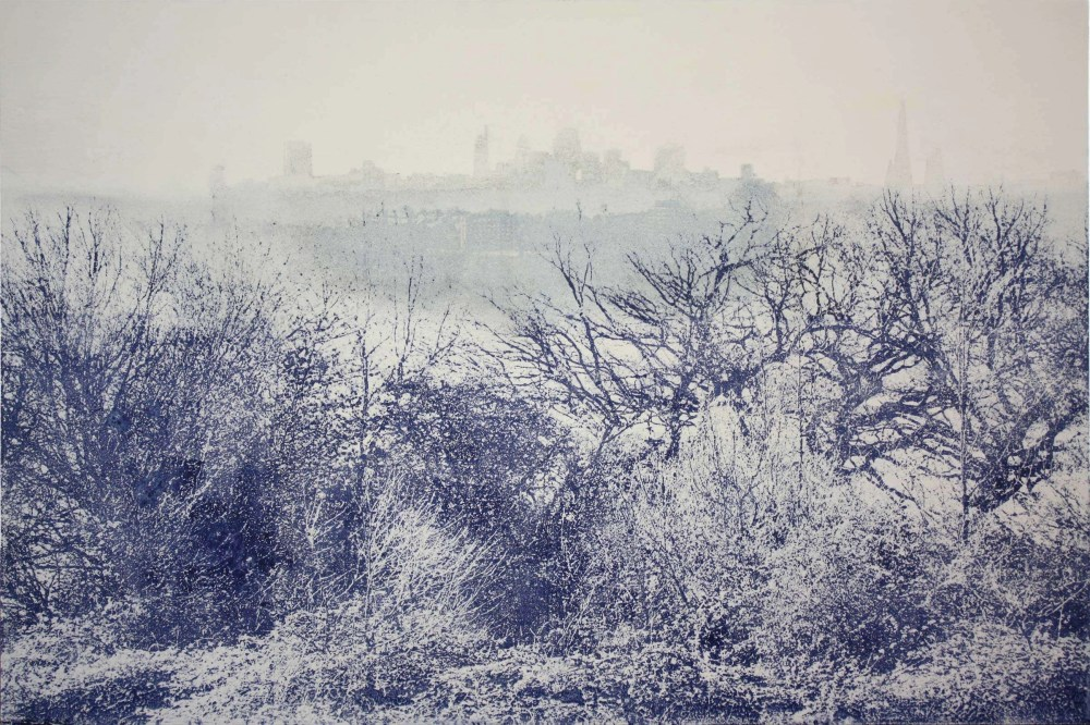 Ephemeral-London from Parliament Hill Print