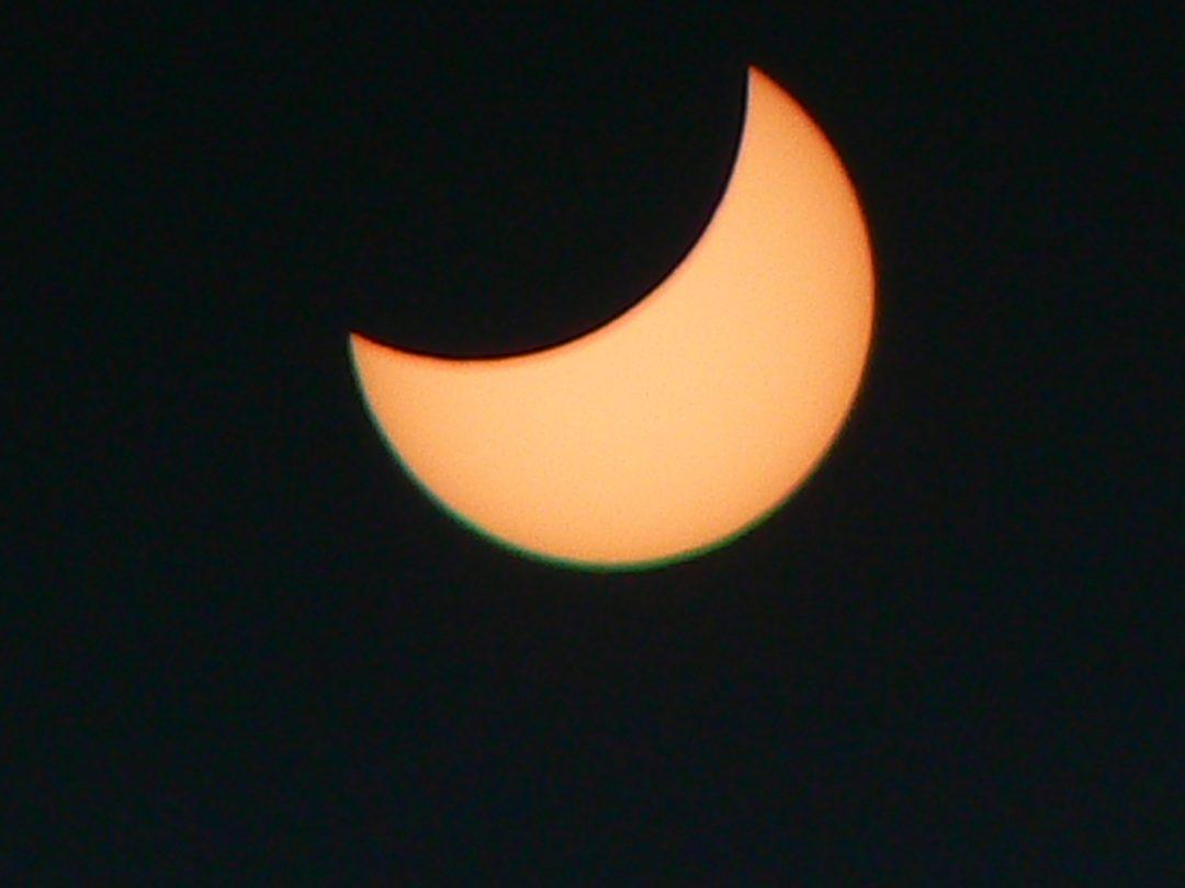 """Zaćmienie słońca z """"Czarnej bieli"""""""