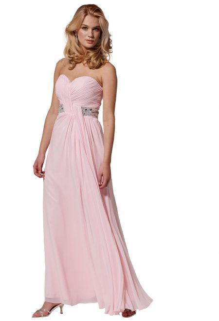 vestidos de fiesta rosado, para la noche, o el dia