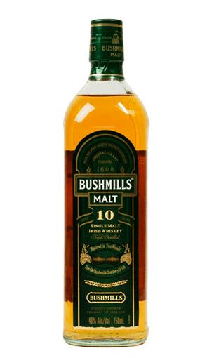 comprar Bushmills 10 años, whisky premium