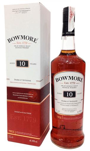 Bowmore 10 años Darkest - Comprar whisky