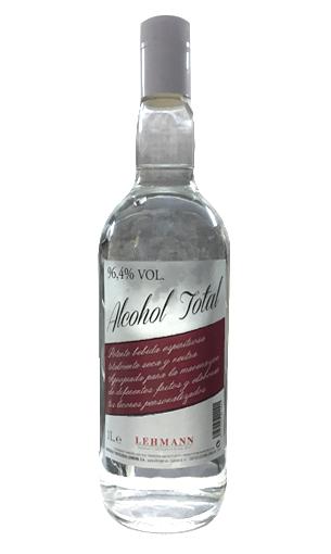 Comprar Alcohol total 96º de Lehman - Licorería Mariano Madrueño