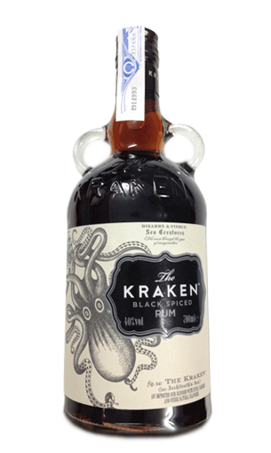 The Kraken Black Spiced (ron) - Mariano Madrueño