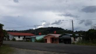 Detrás de esa montaña es Panamá