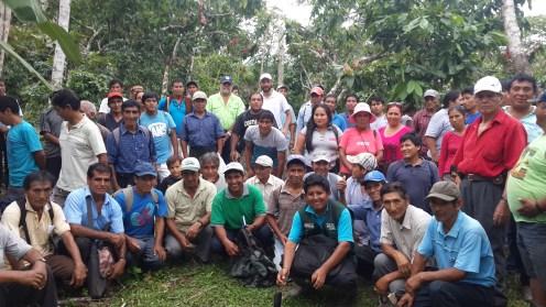 San Martín de Pagoa. Práctica de campo con productores