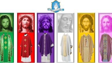 Photo of الى ماذا ترمز الألوان في الثوب الكهنوتي وما علاقتها بالأزمنة الليتورجية؟