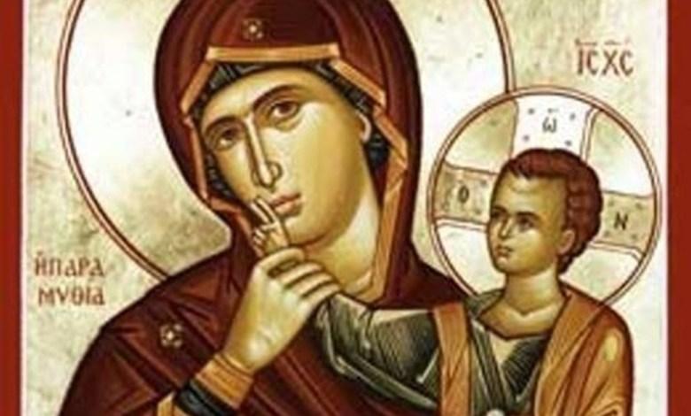 Photo of أيقونة والدة الإله المعزّية – ايقونة لا تتكلّمي