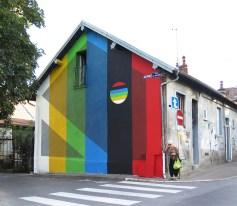 """Contrast"", Bien Urbain, Besançon, Francia."
