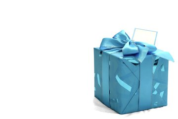 Подарок с бантом