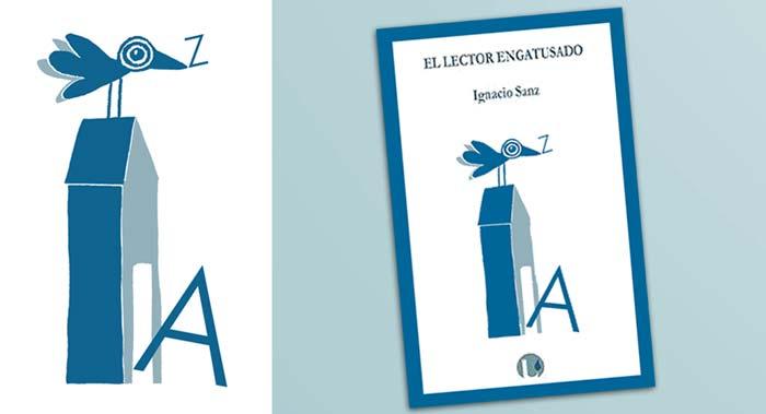 Dibujo de cubierta libro Ignacio Sanz